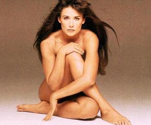 Demi Moore cumple 50 años - Desnuda y embarazada