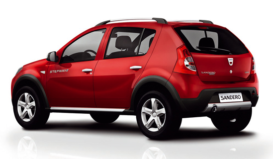 dacia sandero stepway detalles equipamiento y precios. Black Bedroom Furniture Sets. Home Design Ideas