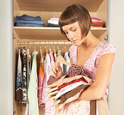 C mo distribuir la ropa en los armarios - Como distribuir armario empotrado ...