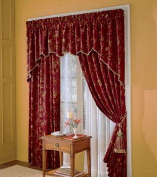 cortina pero en pálido ya que el conjunto de cortina visillo quedará