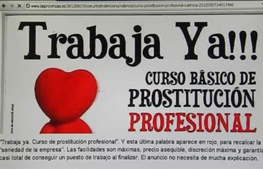 catador de prostitutas prostitución legal o ilegal