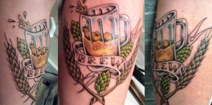 tatuajes y alcohol