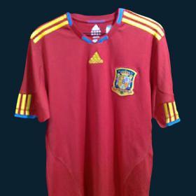 España Para Sudafrica El La 2010 Camiseta Mundial De PBwEFqHp