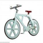 Insólita bicicleta de cartón por sólo 16 dólares - Fotos¡
