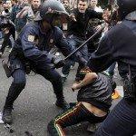 15 heridos y nueve detenidos en la manifestación del 25S.