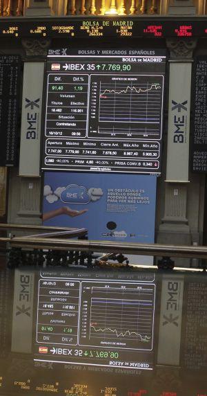 La Bolsa se dispara por el inminente rescate a España