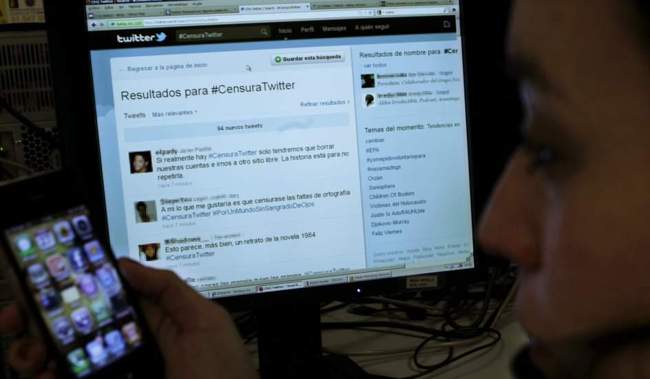 Conoce de qué se trata la censura selectiva de Twitter