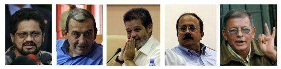España y EE UU piden que detengan a negociadores de las FARC