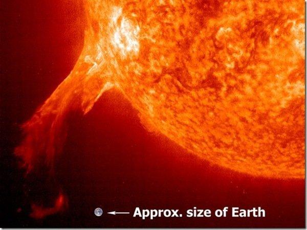 Una llamarada solar alcanza la Tierra y provoca inconvenientes