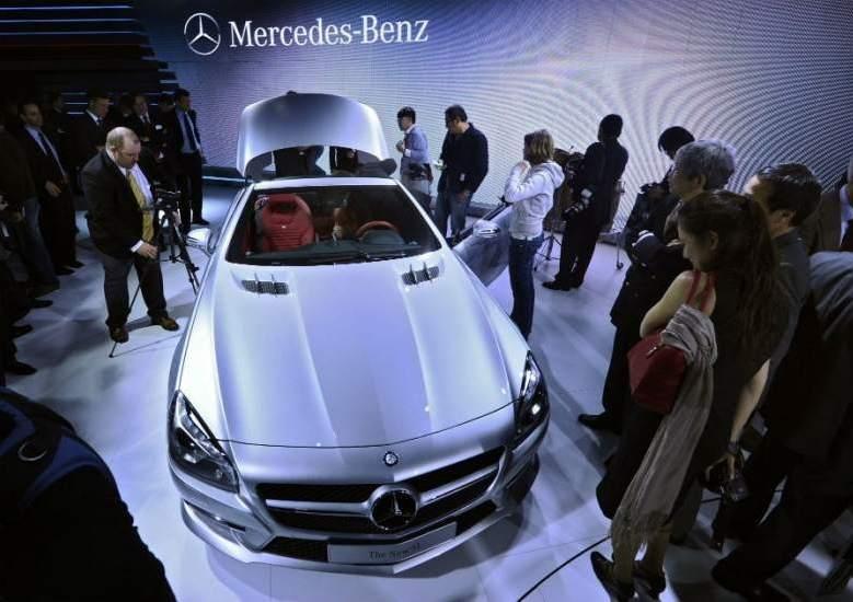 Mercedes Benz logra un récord de ventas en plena crisis