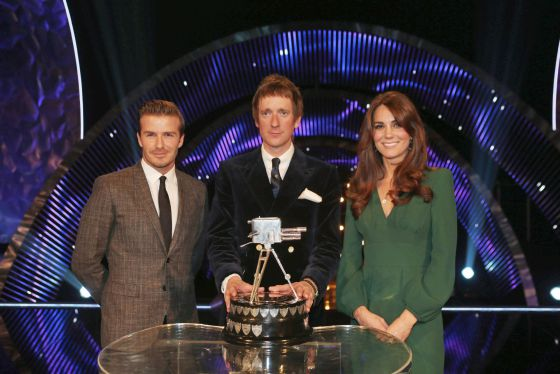 Kate Middleton reaparece en la entrega de premios de la BBC