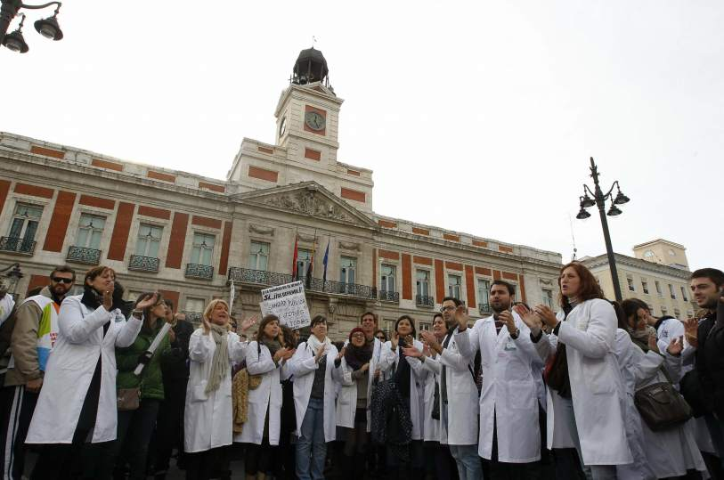 Sanidad y el plan para privatizar hospitales en Madrid