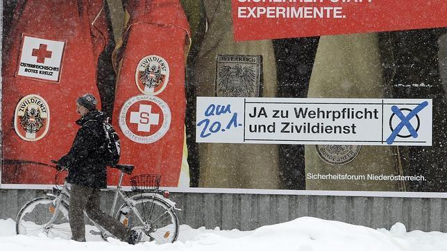 Austria decide mantener el servicio militar obligatorio