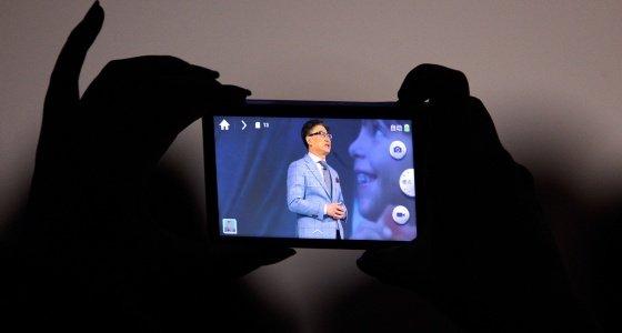 El televisor 'casi humano' de Samsung
