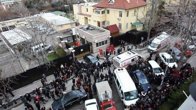 Atentado suicida contra la Embajada de EE UU en Turquía deja un muerto¡