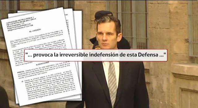 Urdangarin dice que irá al Constitucional y anulará el 'caso Nóos'