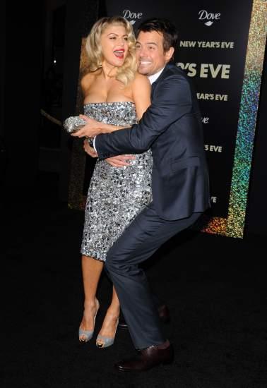 Fergie de Black Eyed Peas y Josh Duhamel esperan su primer hijo