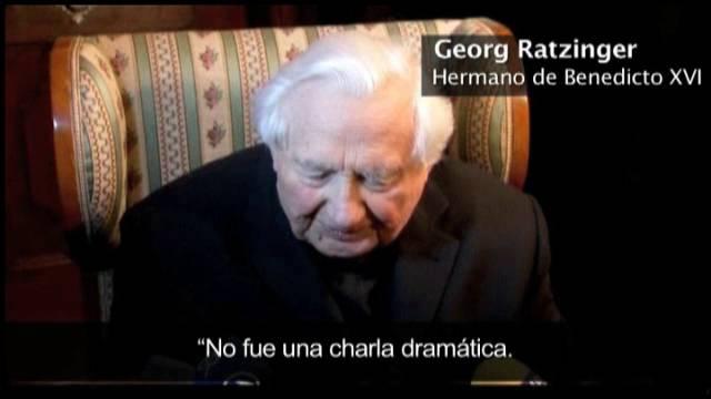 El hermano del Papa Benedicto XVI habla del porqué de su renuncia