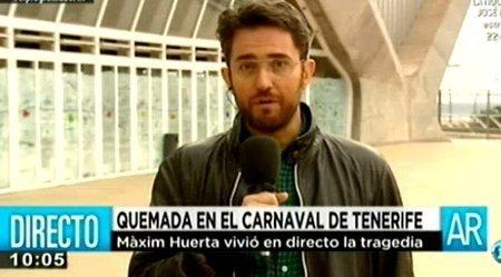 Màxim Huerta testigo de la tragedia del Carnaval de Tenerife - Fotos
