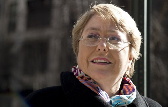 Bachelet vuelve a repostularse a la Presidencia de Chile