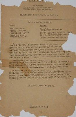 Hitler sufría de flatulencia y le suministraban cocaína y semen de toro