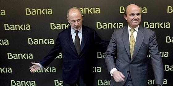 Guindos habría exigido la dimisión de Rato para rescatar a BFA-Bankia