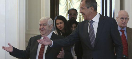 Rusia pide a Siria que rinda su arsenal químico