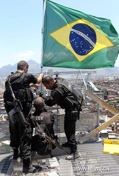 Brasil le compra armas a Rusia para el Mundial de fútbol