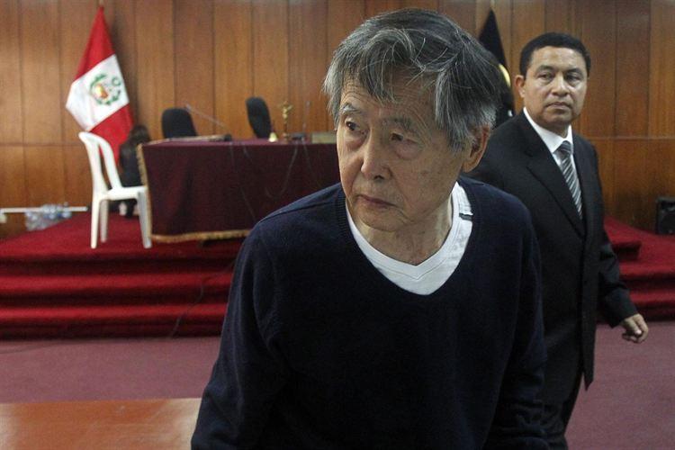 Fujimori es dado de alta y trasladado a la cárcel nuevamente