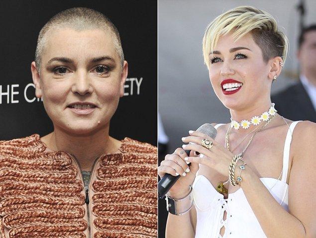 Sinéad O'Connor aconseja a Miley Cyrus