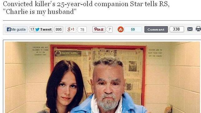 Conoce a la joven prometida del asesino Charles Manson - Fotos¡