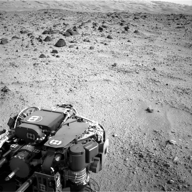 El rover Curiosity reinicia su software luego de un fallo inesperado¡