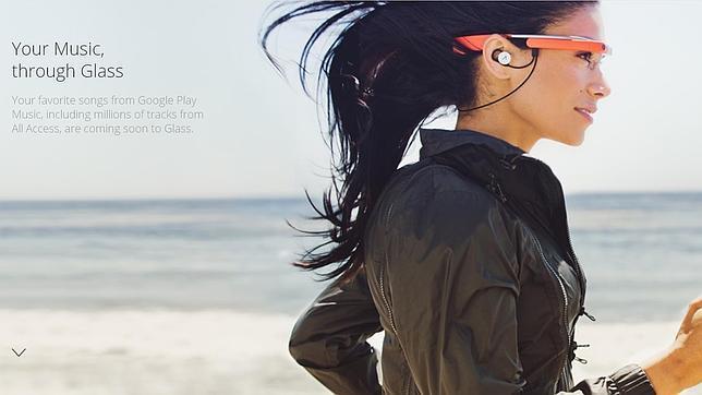 Las Google Glass permitirán también reproducir música¡