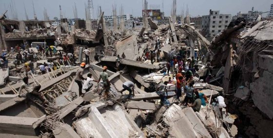 Las empresas de EE UU se olvidan de las víctimas del edificio Rana Plaza de Bangladesh¡