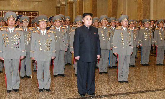 Kim Jong-un ejecutó a su tío por la lucha de poder¡
