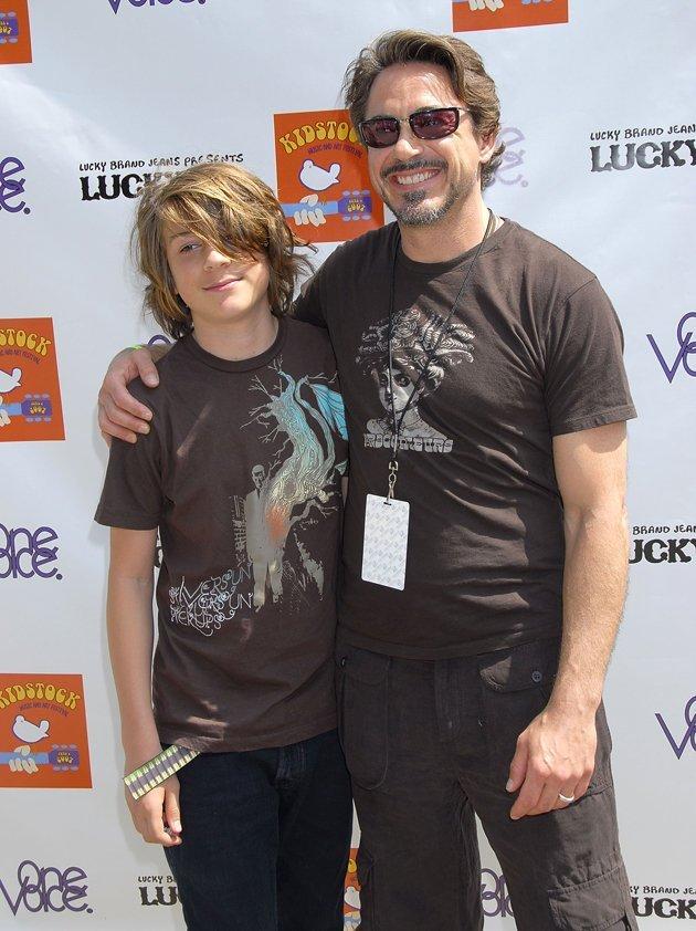 El hijo de Robert Downey Jr es detenido por posesión de cocaína