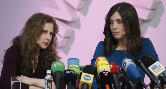 Rusia: Las Pussy Riot son las defensoras oficiales de los derechos de los presos