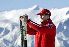 Schumacher con traumatismo craneal tras sufrir una caída esquiando