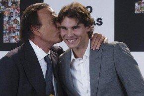 Julio Iglesias: Rafa Nadal es el español más célebre del mundo y el mejor deportista español