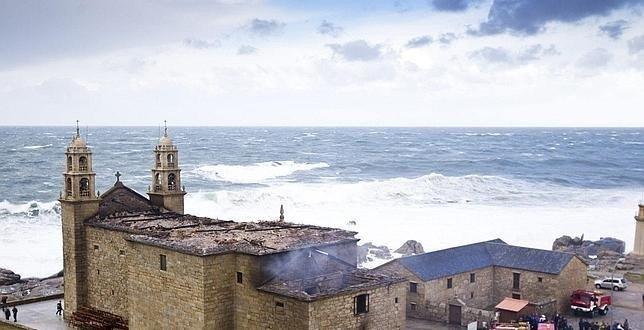 850.000 euros es lo que costará aproximadamente la reconstrucción del santuario de Muxía