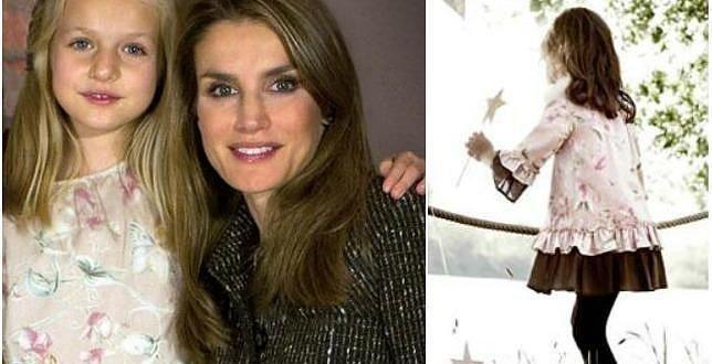 Se agota el vestido que llevó la Infanta Leonor en la felicitación de Navidad - Fotos