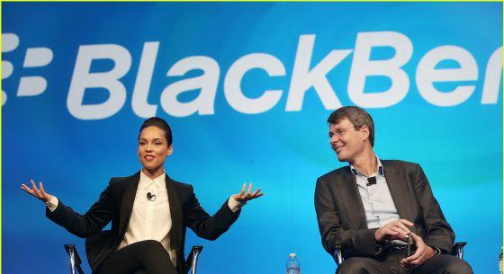Blackberry despide a la cantante y compositora Alicia Keys