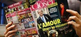 Hollande se enfada por el falso rumor de su novia secreta
