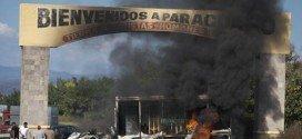 La violencia empaña a Peña Nieto