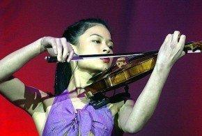 La violinista Vanessa Mae participará en esquí alpino en los Juegos Olímpicos