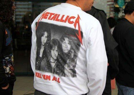 Polémica en Ecuador por la 'setlist' de Metallica