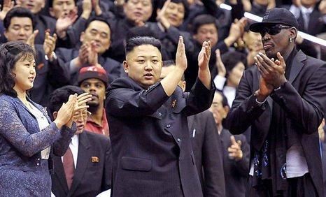 Dennis Rodman será el regalo de cumpleaños de Kim Jong-un
