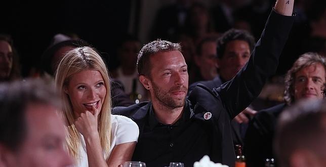 Gwyneth Paltrow y Chris Martin ahuyentan los rumores de crisis