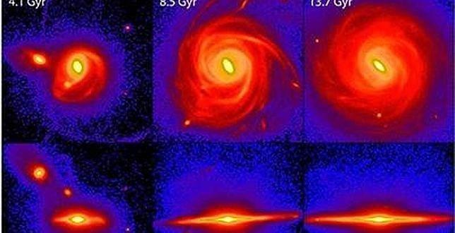 Estudio: La Vía Láctea se formó desde dentro hacia fuera