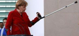 Angela Merkel se fractura la pelvis mientras esquiaba